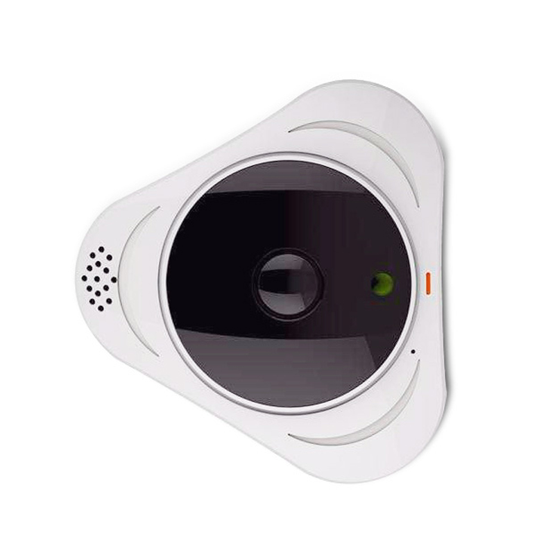 Full HD 1080P Panorama VR Camera 3D WIFI Camera Fisheye Lens HD 3 0 MP WI FI Camera IR Night Vision Baby Monitor in Surveillance Cameras from Security Protection