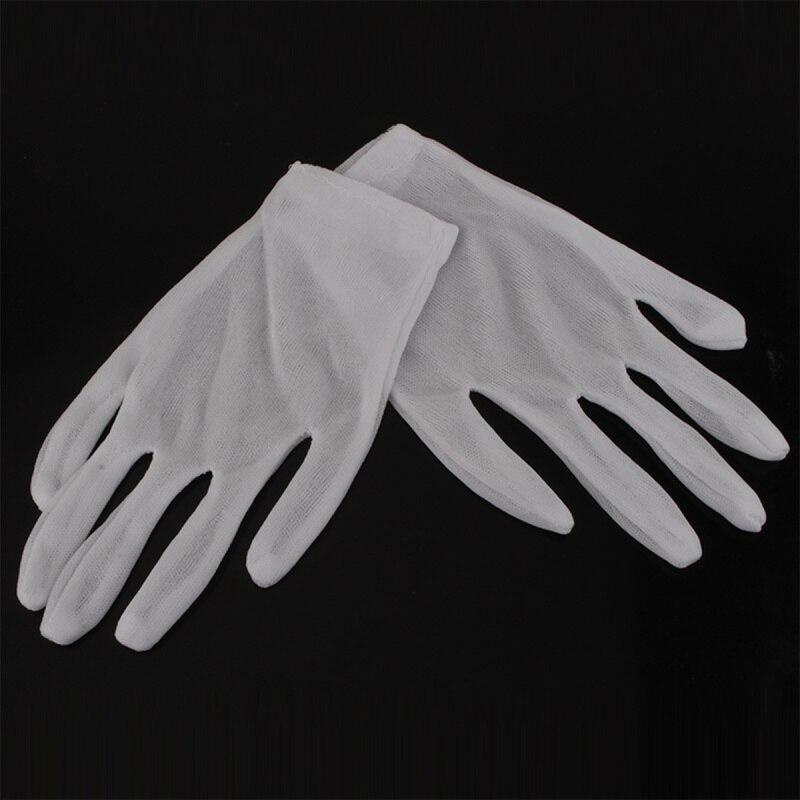 Pcs White Cotton Work Gloves