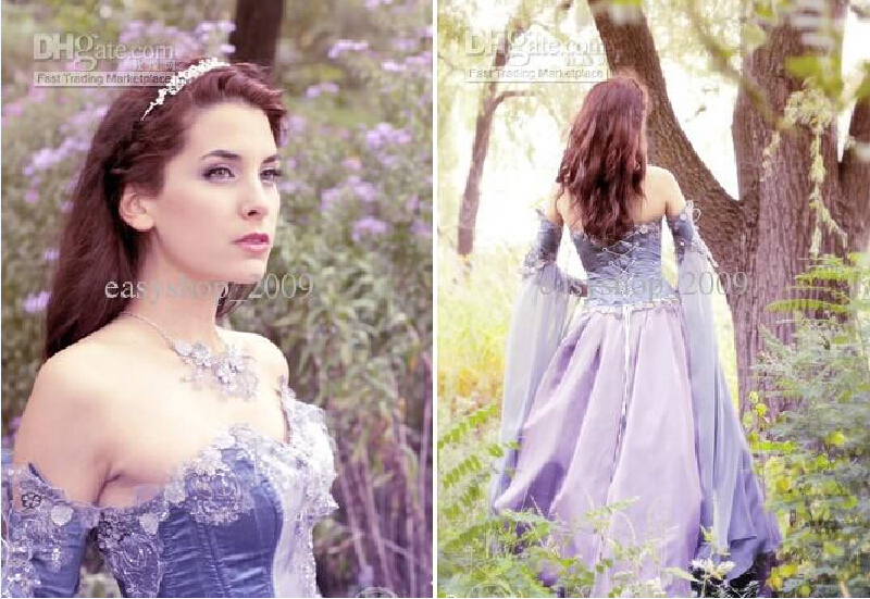 new Muslim dress Medieval Wedding Dress LOTR Renaissance Fantasy ...