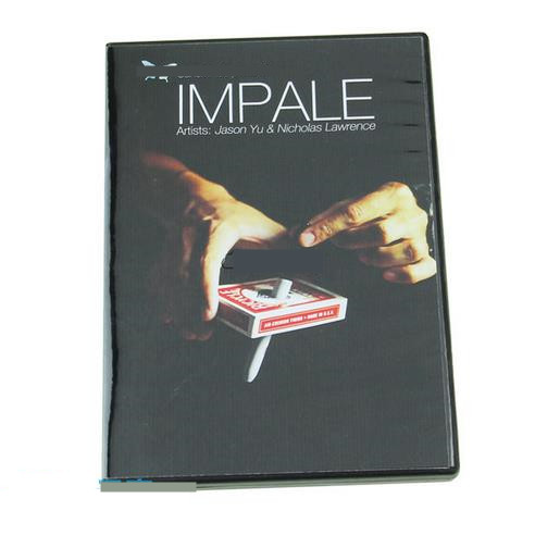 2015 New Impale (DVD+Gimmick) - Card Magic Trick,Stage,close up,Fun,Prophecy,mentalism,coin magic,illusions стоимость