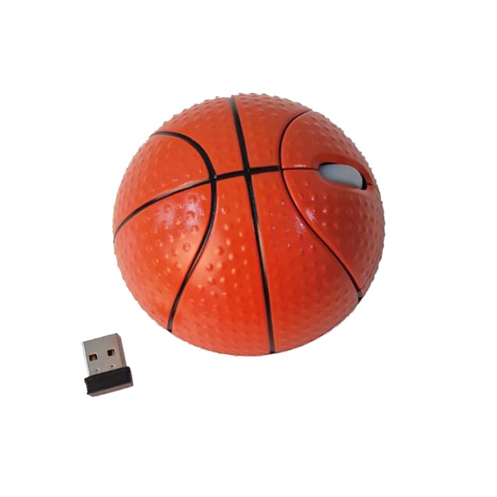 Creative drahtlose maus 1000 dpi usb basketball fashion drahtlose optische maus spiel...
