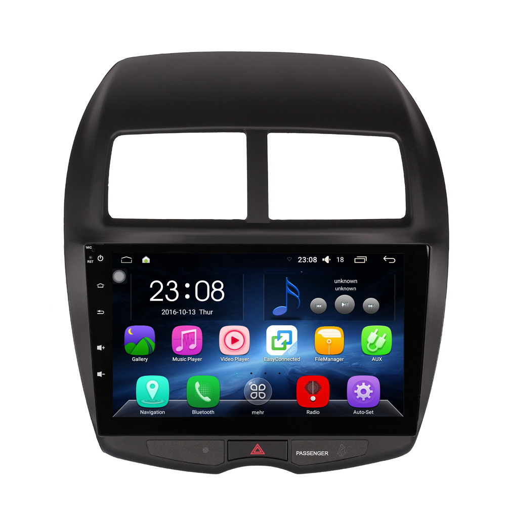 8 Core, 2G RAM, 32G ROM, 10.1 inch Android 5.1.1 Car DVD Player GPS Navigation Radio System for Mitsubishi ASX 2010-2015