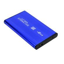 Deepfox Aluminum Metal External HDD Caddy 2.5 inch SATA External Case USB 2.0 HDD Hard Drive Case