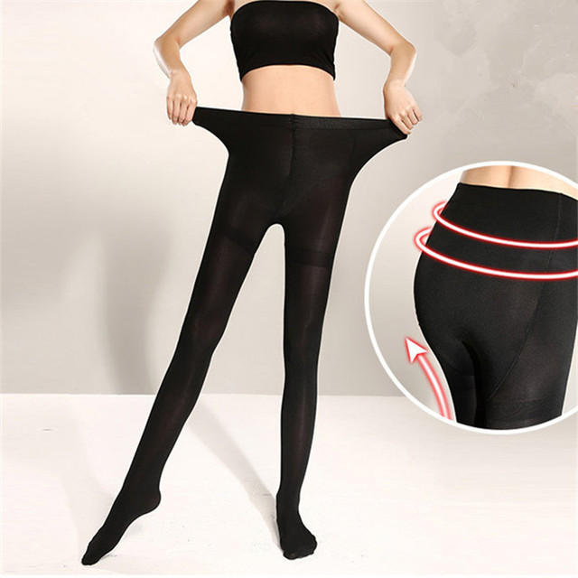 1pc Big Size Women Sexy Pantyhose,120D Velvet Spring Autumn Panty Hose,Nylon Elastic Step Foot Seamless Tights Stockings Hosiery 4