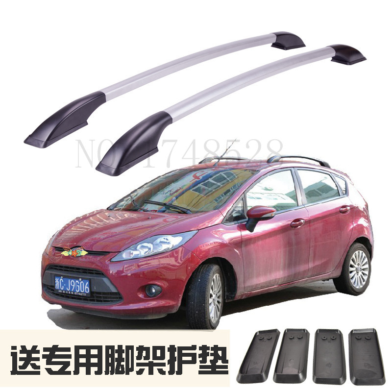 Accessories Refitting the roof rack of aluminum alloy luggage rack for Ford fiesta hatchback Auto parts 1.3M auto cross rack roof racks luggage rack for ford ecosport 2013 2014 2015 2016 2017 high quality car accessories