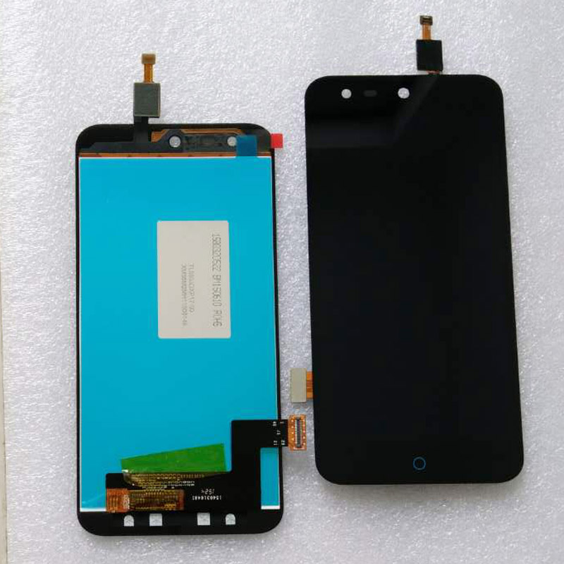 test ok Black For <font><b>ZTE</b></font> Blade X5 / Blade D3 <font><b>T630</b></font> New Full LCD Display + Touch Screen Digitizer Assembly Replacement with 3m type image