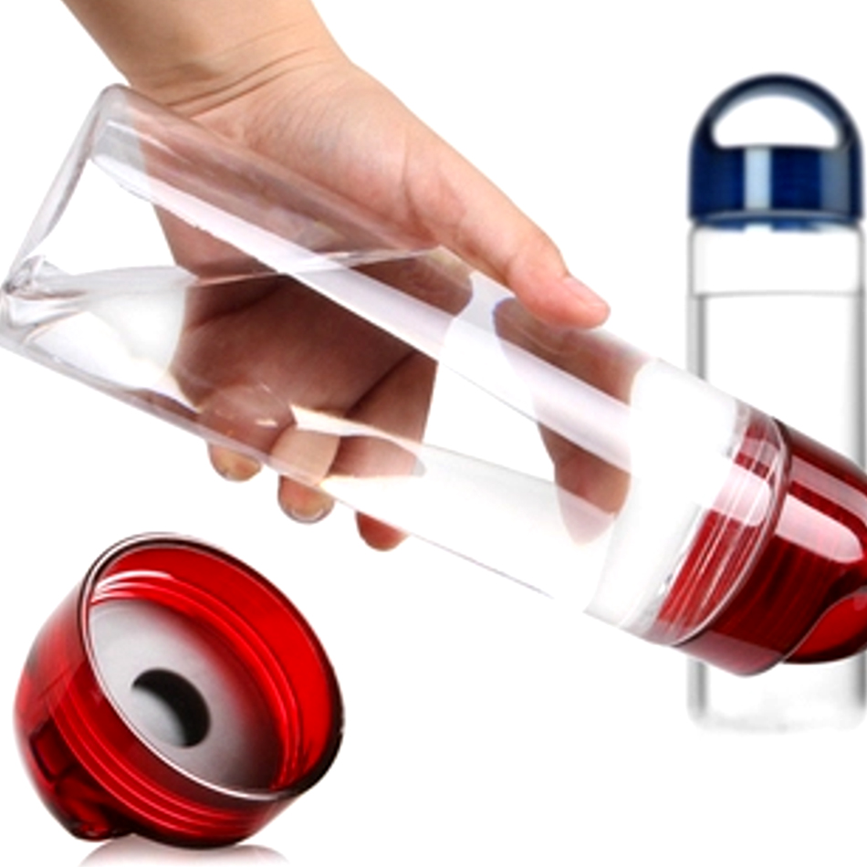 Fruit Infusing watter bottle Lemon Juice Maker 700ml Bike Travel Sports Health Cup New Arrival