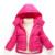 Novos Meninos Meninas Para Baixo Casacos de Inverno Casacos Quentes Crianças Roupa Com Capuz À Prova de Vento Para Crianças Infantil Bebê Outerwear Vestuário de Moda
