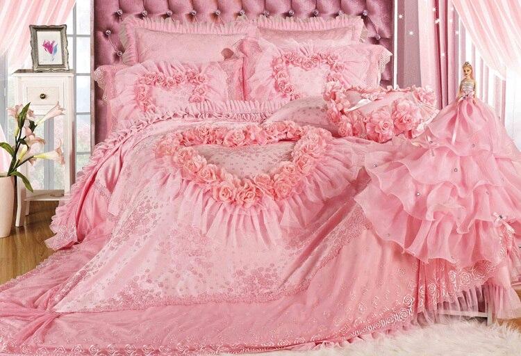King Pink Bedding