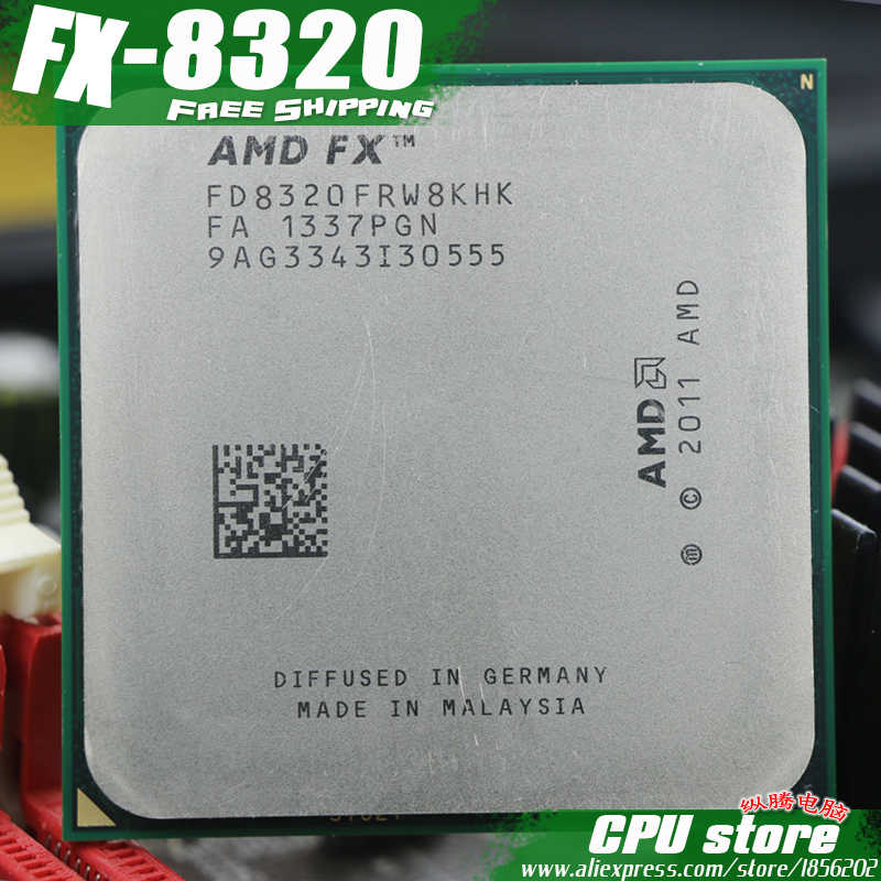 Amd Fx 8320 Am3 3 5ghz 8mb 125w Eight Core Cpu Processor Fx Serial Pieces Fx 8320 Working 100 Free Shipping Sell Fx 8300 8350 Amd Fx 8320 Amd Fxprocessor Fx Aliexpress