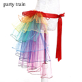New Arrive Adult Tulle Skirt Rainbow Tail Tutu Skirt Cake Bitter Fleabane Skirt Ballet Skirt For Women Gauze Custume With Party