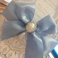 2017 wholesale silver oval rhinestones pearl flatback button w/ teardrop ivory pearl wedding invitation ornament accessory 12pcx