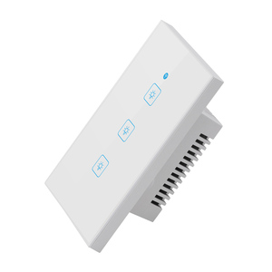 Image 5 - Ewelink commutateur tactile Wifi 2.4G maison intelligente interrupteur tactile panneau mural ue/royaume uni Standard Led intelligente Wifi contrôle Alexa