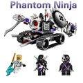 Bela Fantasma Ninja Ninjagoing destruição do robot Building Block Define 10221 Brinquedos Educativos original Compatível lepin