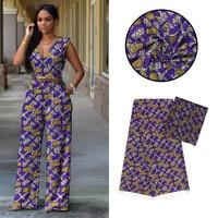 new african chiffon matching silk wax print fabric ankara dashiki printed hollandais fashion wedding dress party for women