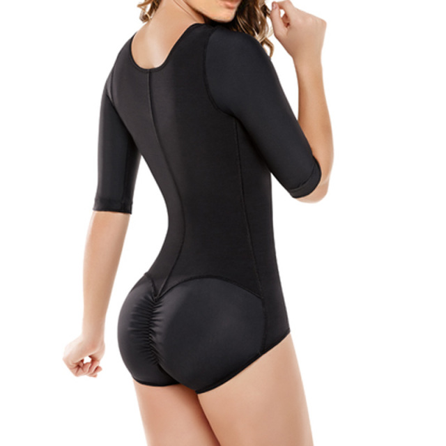 83395fa19edbf Sexy Zipper Waist Trainer Tummy Control Women Waist Bodycon Corsets Cincher Slimming  Body Shaper Bodysuit Butt Lifter Underwear
