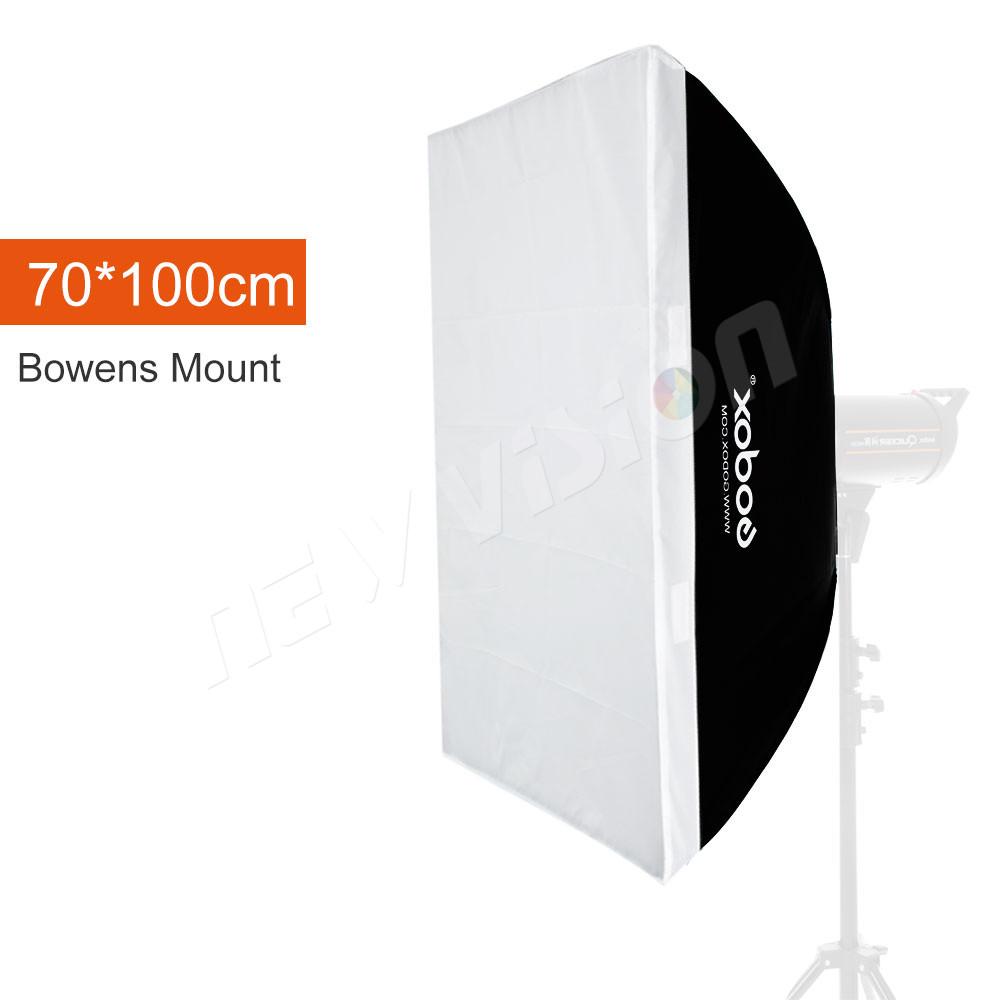 """Prix pour Godox 70x100 cm 27.5 """"x 39"""" Speedlite Studio Strobe Photo Flash Réfléchissant Softbox Soft Box Diffuseur pour Bowens Mont"""