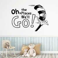 Мультфильм Стиль Go это место наклейки для украшения дома и детской комнаты украшения наклейки фрески