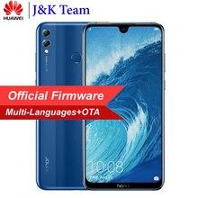 Huawei Onur 8X Max 7.12 inç MobilePhone 4900 mAh Pil Smartphone Android 8.2 16MP Kamera Google Oyun Çoklu Dil