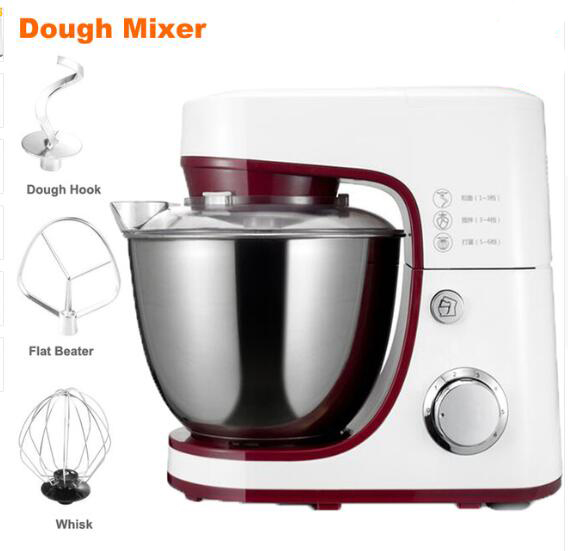 1000W 4.2L 6-speed Kitchen Electric Food Stand Mixer Whisk Blender Cake Dough Bread Mixer Maker Machine