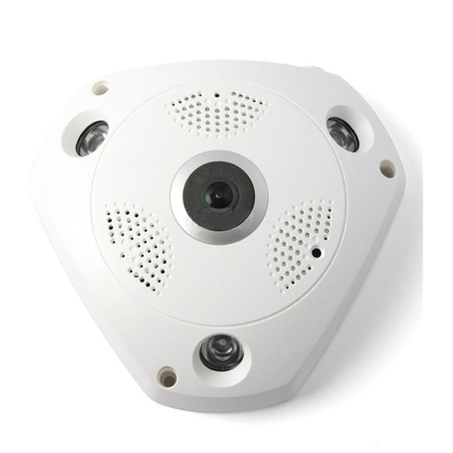 MOOL プロフェッショナル 360 度パノラマ 960 p HD カメラワイヤレス IR 電球魚眼カメラセキュリティ電球 WIFI カメラ