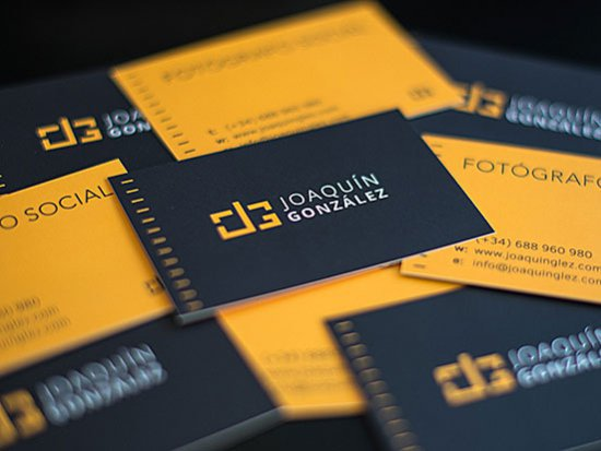 Black Glossy Business Cards Promotion Shop for Promotional