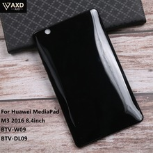 Ultra Thin Screen Protective TPU Shell For Huawei MediaPad M3 2016 8.4inch BTV-W09 BTV-DL09 Non Slip Tablet PC Back Case Cover цена в Москве и Питере