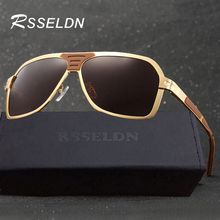 RSSELDN Men's Sunglasses 2017 Designer Brand Vintage Men's Sunglasses Polarized Sunglasses Men's Polarized Sunglasses With BOX