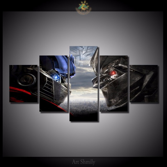 5 Pieces/set Star Wars Battles Canvas Print