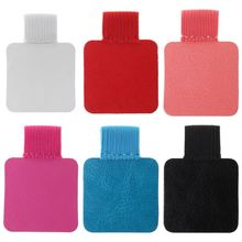 3pcs Square Self-adhesive Leather Pen Clip Pencil Elastic Loop For Notebooks Journals Clipboards Pens Holder