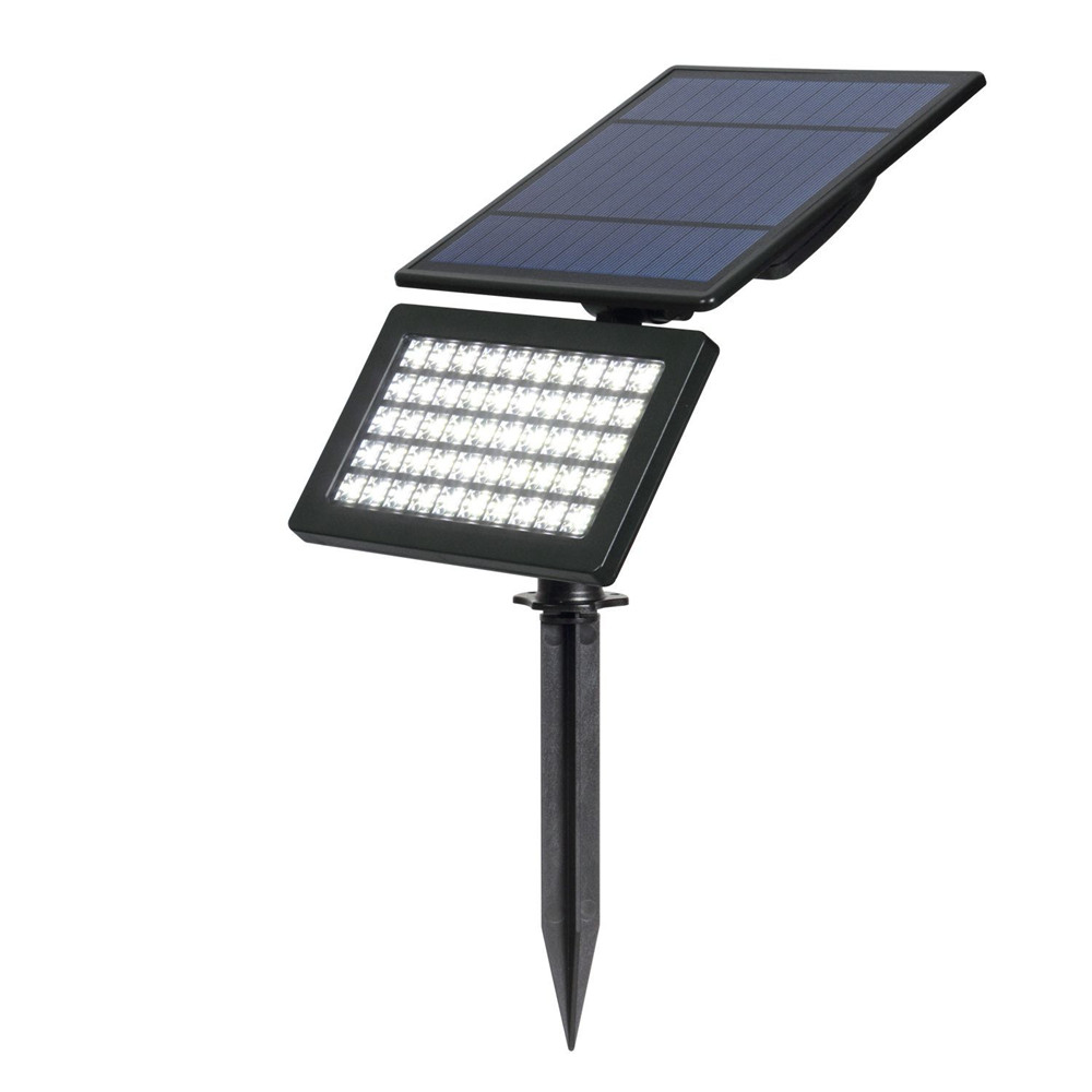 Tuinverlichting Zonne Energie Us 18 95 40 Off 50 Leds Solar Light Outdoor Led Zonne Energie Tuinverlichting Waterdichte Wandlampen Gazon Lamp Landschap Spot Lights Spotlight In