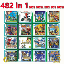482 In 1 Video Game Cartridge Card Compilation All In 1 NDS