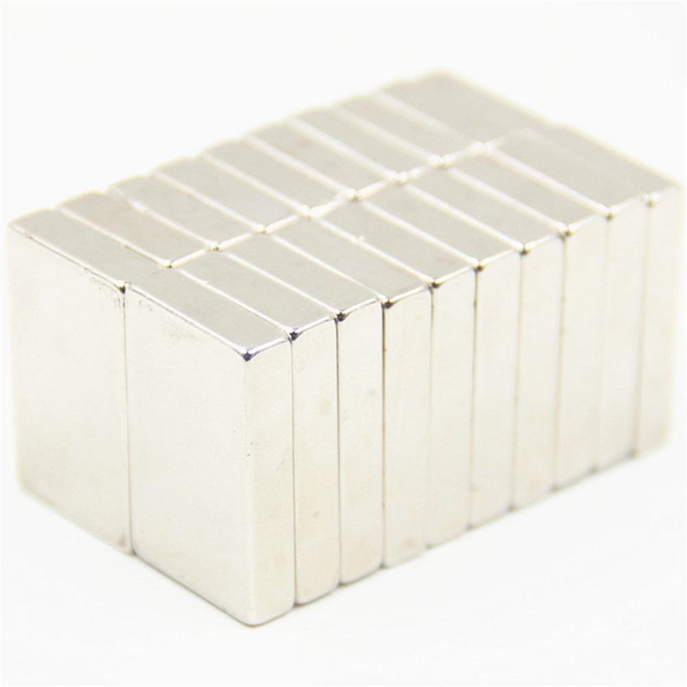 10pcs F40x30x10mm Super Powerful Strong Rare Earth Block NdFeB Magnet Neodymium N35 Magnets F40*30*10mm Free Shipping 40mm parnis white dial vintage automatic movement mens watch p25