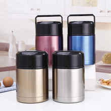 Large Capacity Thermos Stainless Steel Vacuum Insulated Thermal Lunch Container Flask Food Jar Wide Mouth 800ML&1000ML