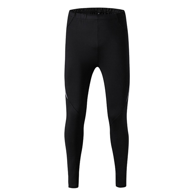 High Quality Men Black Pants Plus Size Elastic Pants Bodybuilding Skinny Leggings Trousers Spliced Polyester Full Length