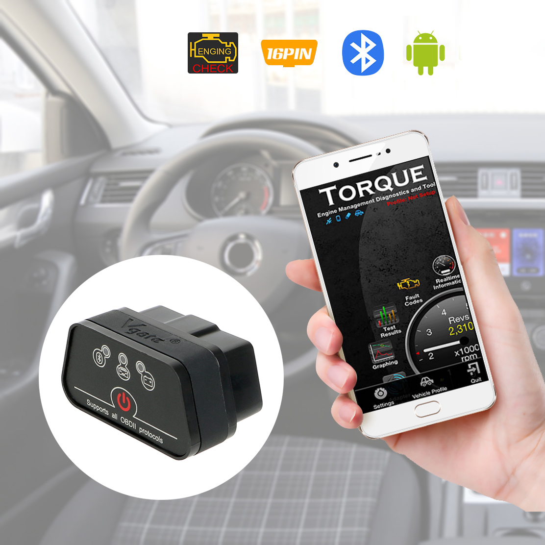 LEEPEE Icar2 OBD2 ELM327 V1.5 für Android Bluetooth Adapter Auto Diagnose Werkzeug Auto Fehler Code Reader Automotive Scanner