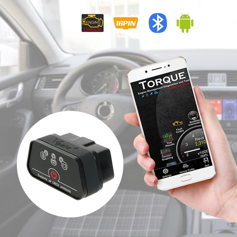 LEEPEE Icar2 OBD2 ELM327 V1.5 для Android Bluetooth адаптер автомобильный диагностический инструмент автомобильный считыватель кода ошибки Автомобильный скан...