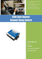 200 Users GSM Gate Door Opener For NICE FAAC MIGHTY MULE BFT CAME GSM Remote Switch