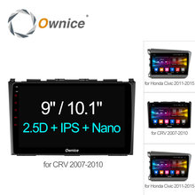 "Ownice C500 + 9 ""Octa 8 Core Auto GPS DVD android 6.0 2 GB + 32 GB für Honda CR-V 2007-2010 für Civic 2011 Video radio Unterstützung 4G"