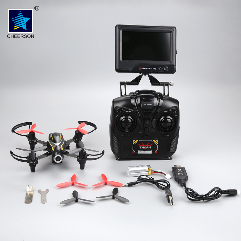 CHEERSON CX-93S RC Helicopter 5.8G Real-time Transmit FPV Drone With Camera 720P Quadcopter Altitude Hold RC Helicopter Toy cheerson cx 32s drone with 2mp camera lcd 4ch 6axis helicopter with fpv 5 8g video real time transmision hight hold aircraft