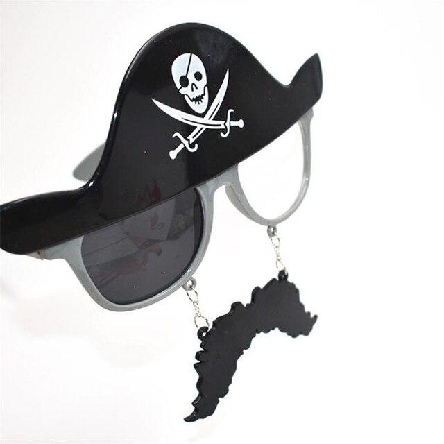 Пиратские очки для карнавала в ассортименте 2