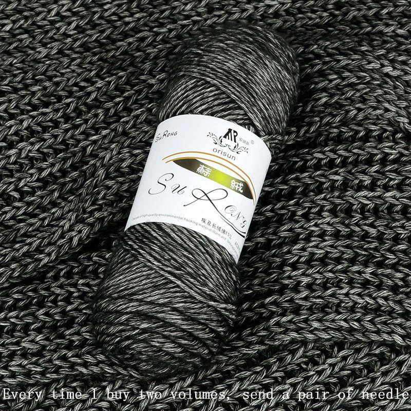 400 g / partij lang genaaid katoen voor het breien van sjaalgaren - Kunsten, ambachten en naaien