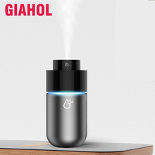 Mini Air Purifier Tragbare Luftbefeuchter Auto Diffusor USB Lufterfrischer Parfüm Duft Besten für Auto Home Desktop Grau 200ML