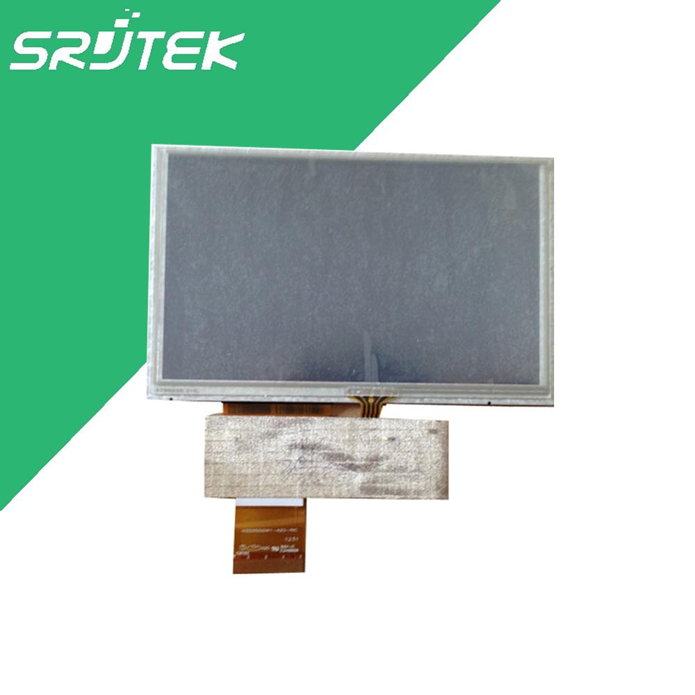 5 inch HD LCD with touch scree for GPS ,MP4,MP5 display screen,40pin LCD HSD050IDW1-A20-RIC ,(800*480) tnpa4786 tnpa4787 good working tested