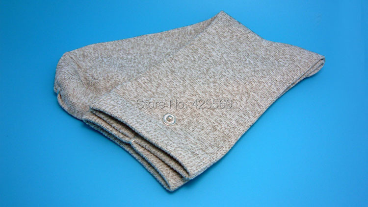 5 Pairs Conductive Slivery Fiber Electrode Massage Socks Use With TENS/EMS Unit abeso 2 10 pairs carbon conductive fibre