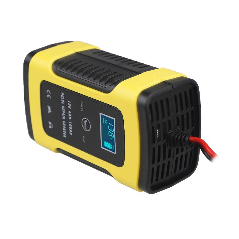 6a 12 v Smart Motorrad Auto Batterie Puls Ladegerät Universal Reparatur Typ Blei Säure Lagerung Ladegerät Batterie Intelligente
