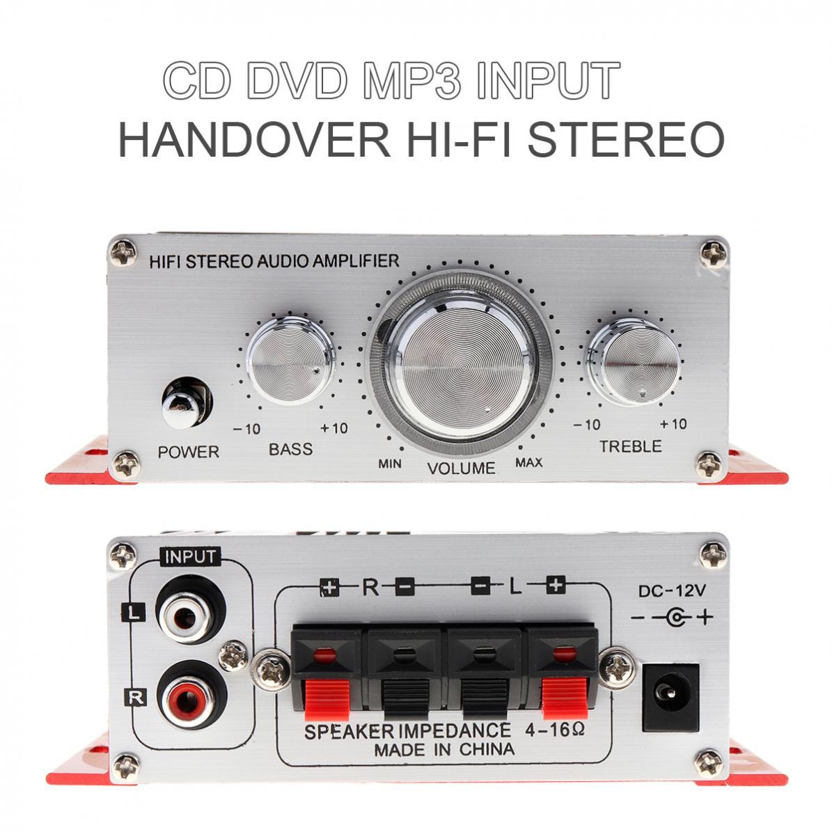 Mini Car Amplifier M