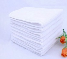 Thicken 3 Layers 5pcs Baby Nappies Liners Nano Fiber Newborn Changing Pads Magic Infant Urine Inserts 13*35 cm