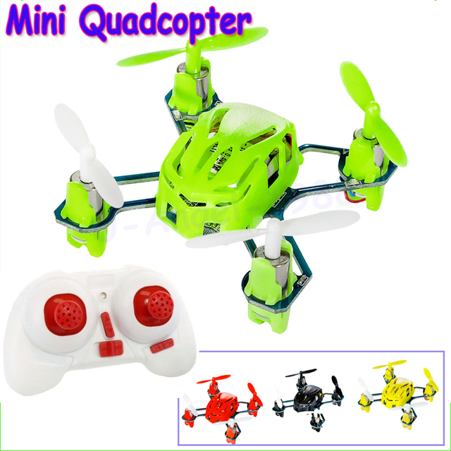 Wholesale 1pc Hubsan Q4 H111 Quadrocopter 4CH 2.4GHz RC Quadcopter RTF Mini UFO Pocket Drone with Gyro LED Light Mini Quadcopter