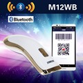 Free Shipping!M12WB Wireless Bluetooth 2D Barcode Scanner PDF417 DataMatrix QR Code Reader For Android IOS Windows 2D Scanner